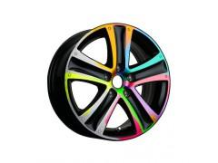飞斯特汽车轮毂改色视频